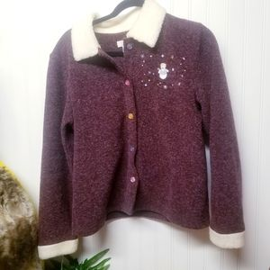 Christopher & Banks Womens Cardigan Sweater Size S